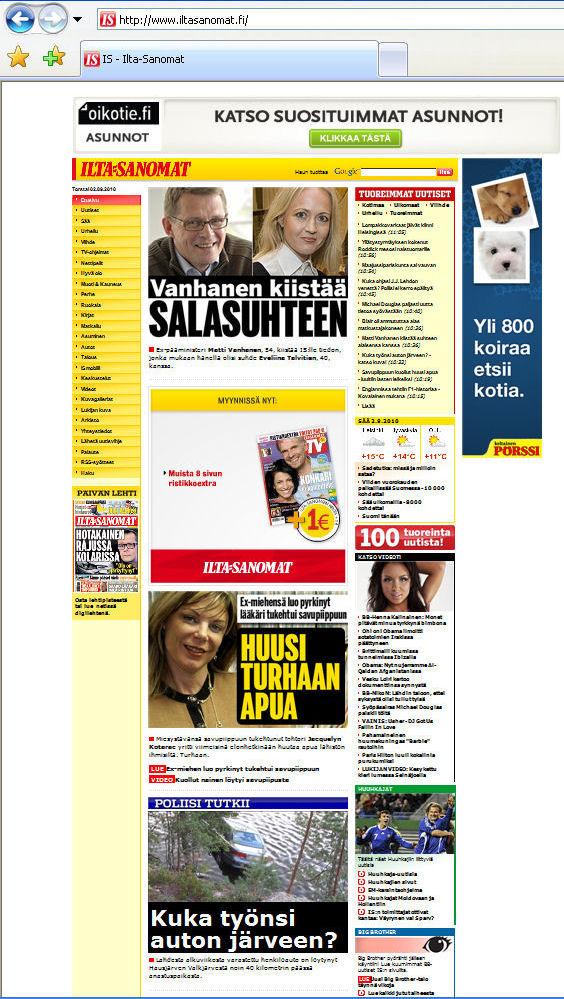 www iltasanomat uutiset fi Hyvinkaa